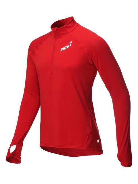 inov-8 AT/C Hardloopshirt lange mouwen Heren rood